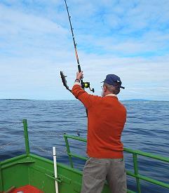 La pêche dans l'ouest de l'Irlande