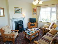 The lounge at Doolin Breeze Holiday Home